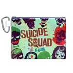 Panic! At The Disco Suicide Squad The Album Canvas Cosmetic Bag (XL) Front