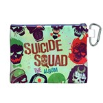 Panic! At The Disco Suicide Squad The Album Canvas Cosmetic Bag (XL) Back