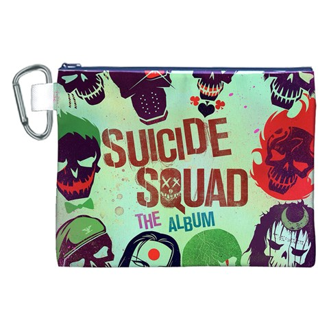 Panic! At The Disco Suicide Squad The Album Canvas Cosmetic Bag (XXL)