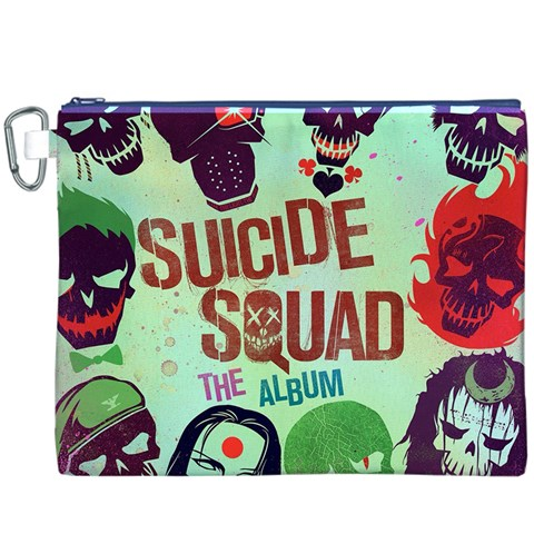 Panic! At The Disco Suicide Squad The Album Canvas Cosmetic Bag (XXXL)
