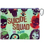 Panic! At The Disco Suicide Squad The Album Canvas Cosmetic Bag (XXXL) Back