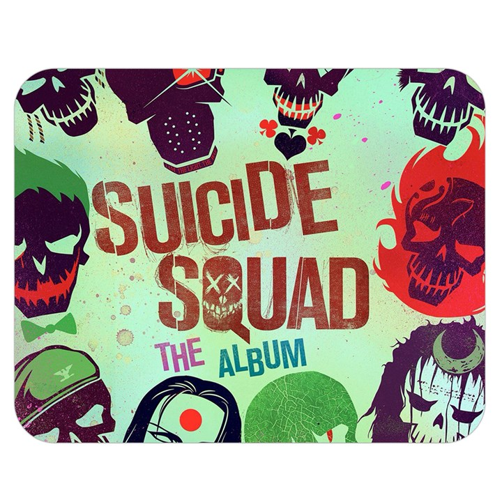 Panic! At The Disco Suicide Squad The Album Double Sided Flano Blanket (Medium)