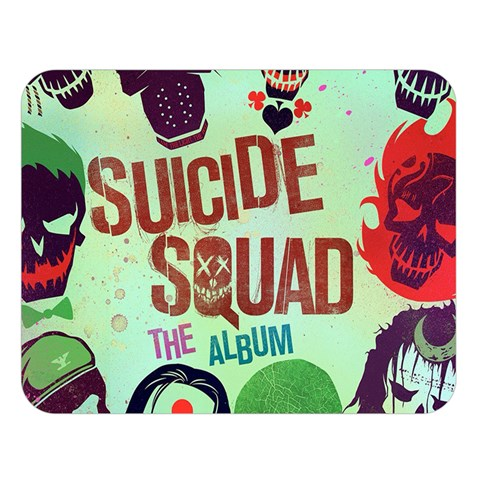 Panic! At The Disco Suicide Squad The Album Double Sided Flano Blanket (Large)
