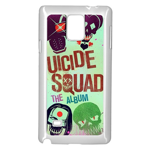 Panic! At The Disco Suicide Squad The Album Samsung Galaxy Note 4 Case (White)