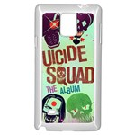 Panic! At The Disco Suicide Squad The Album Samsung Galaxy Note 4 Case (White) Front