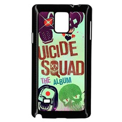 Panic! At The Disco Suicide Squad The Album Samsung Galaxy Note 4 Case (Black)