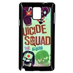 Panic! At The Disco Suicide Squad The Album Samsung Galaxy Note 4 Case (Black) Front