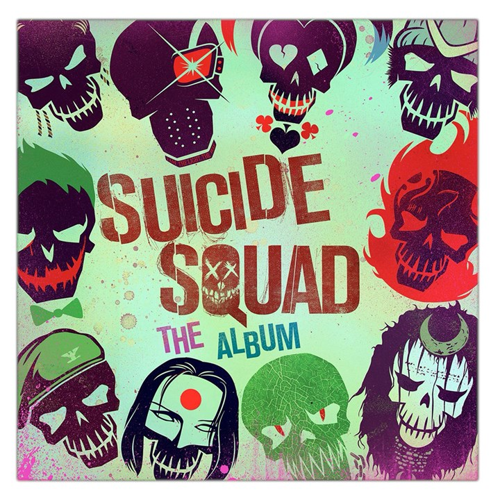 Panic! At The Disco Suicide Squad The Album Large Satin Scarf (Square)