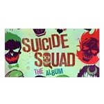 Panic! At The Disco Suicide Squad The Album Satin Shawl Front