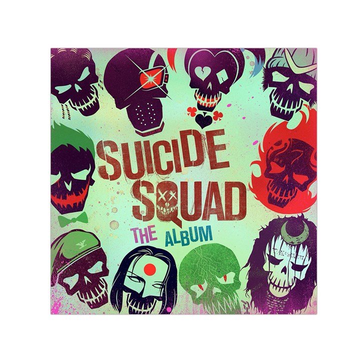 Panic! At The Disco Suicide Squad The Album Small Satin Scarf (Square)