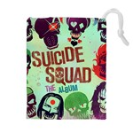 Panic! At The Disco Suicide Squad The Album Drawstring Pouches (Extra Large) Front