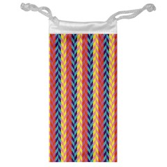 Colorful Chevron Retro Pattern Jewelry Bags