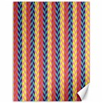 Colorful Chevron Retro Pattern Canvas 12  x 16   16 x12 Canvas - 1