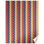Colorful Chevron Retro Pattern Canvas 18  x 24   24 x18 Canvas - 1
