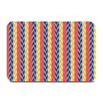 Colorful Chevron Retro Pattern Plate Mats 18 x12 Plate Mat - 1