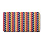 Colorful Chevron Retro Pattern Medium Bar Mats 16 x8.5 Bar Mat - 1