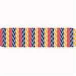 Colorful Chevron Retro Pattern Large Bar Mats 34 x9.03 Bar Mat - 1