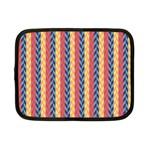 Colorful Chevron Retro Pattern Netbook Case (Small)  Front