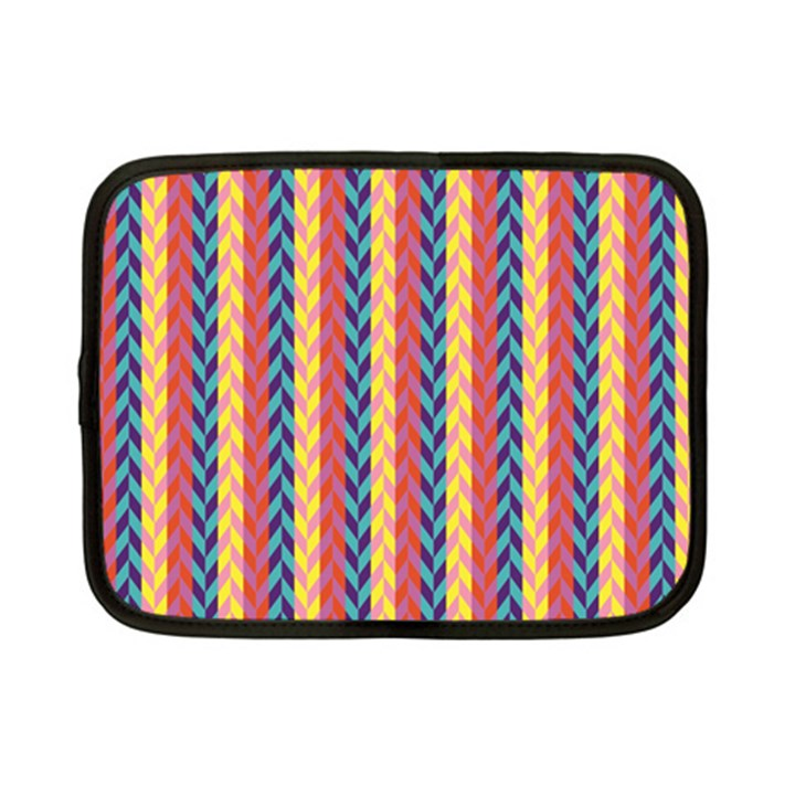 Colorful Chevron Retro Pattern Netbook Case (Small)