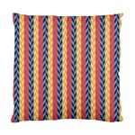 Colorful Chevron Retro Pattern Standard Cushion Case (Two Sides) Back