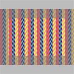Colorful Chevron Retro Pattern Mini Canvas 6  x 4  6  x 4  x 0.875  Stretched Canvas