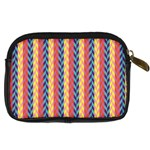Colorful Chevron Retro Pattern Digital Camera Cases Back