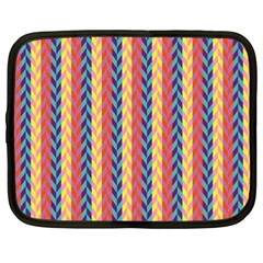 Colorful Chevron Retro Pattern Netbook Case (XL)