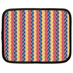 Colorful Chevron Retro Pattern Netbook Case (XL)  Front