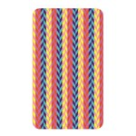 Colorful Chevron Retro Pattern Memory Card Reader Front