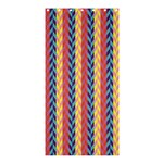Colorful Chevron Retro Pattern Shower Curtain 36  x 72  (Stall)  36 x72 Curtain
