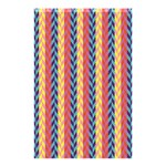 Colorful Chevron Retro Pattern Shower Curtain 48  x 72  (Small)  42.18 x64.8 Curtain
