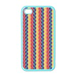 Colorful Chevron Retro Pattern Apple iPhone 4 Case (Color) Front