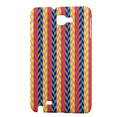 Colorful Chevron Retro Pattern Samsung Galaxy Note 1 Hardshell Case