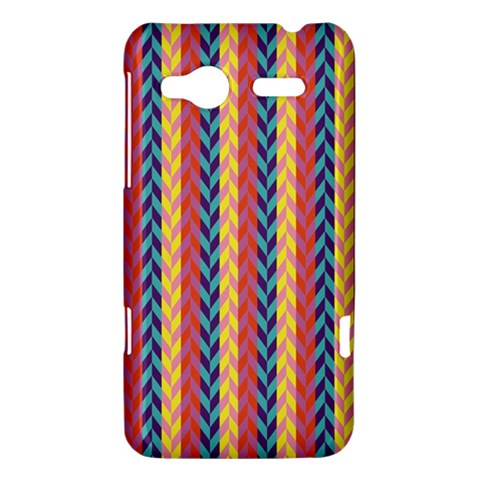 Colorful Chevron Retro Pattern HTC Radar Hardshell Case