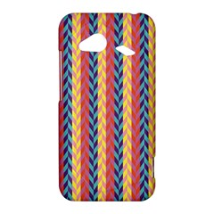Colorful Chevron Retro Pattern HTC Droid Incredible 4G LTE Hardshell Case