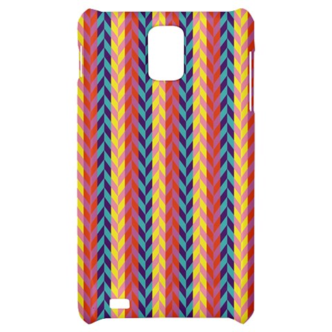 Colorful Chevron Retro Pattern Samsung Infuse 4G Hardshell Case