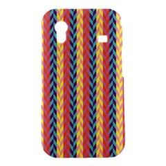 Colorful Chevron Retro Pattern Samsung Galaxy Ace S5830 Hardshell Case
