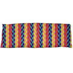 Colorful Chevron Retro Pattern Body Pillow Case (Dakimakura)