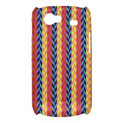 Colorful Chevron Retro Pattern Samsung Galaxy Nexus S i9020 Hardshell Case
