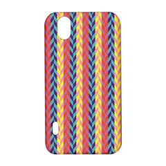 Colorful Chevron Retro Pattern LG Optimus P970