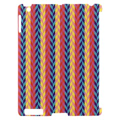 Colorful Chevron Retro Pattern Apple iPad 2 Hardshell Case (Compatible with Smart Cover)