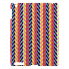 Colorful Chevron Retro Pattern Apple iPad 3/4 Hardshell Case