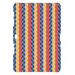 Colorful Chevron Retro Pattern Samsung Galaxy Tab 10.1  P7500 Hardshell Case