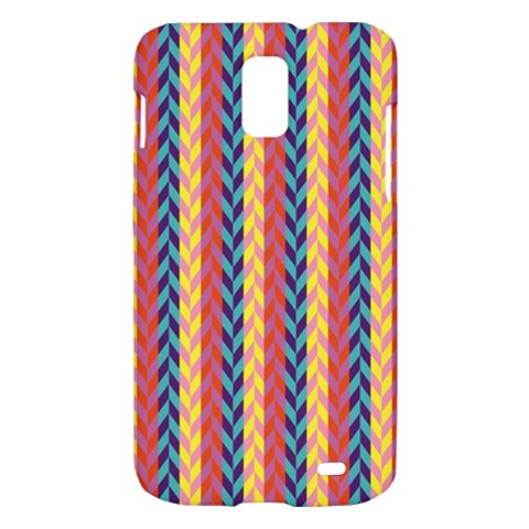 Colorful Chevron Retro Pattern Samsung Galaxy S II Skyrocket Hardshell Case