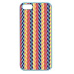 Colorful Chevron Retro Pattern Apple Seamless iPhone 5 Case (Color) Front
