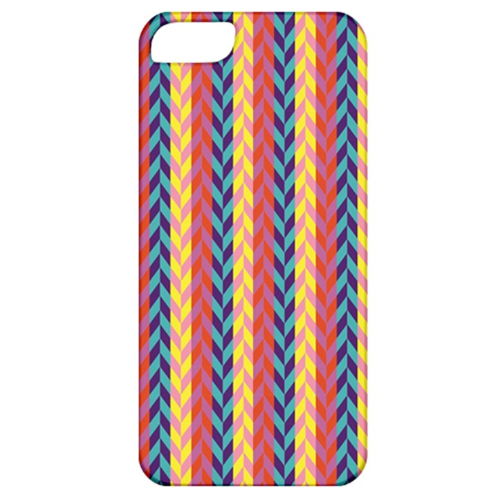 Colorful Chevron Retro Pattern Apple iPhone 5 Classic Hardshell Case