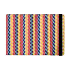 Colorful Chevron Retro Pattern Apple Ipad Mini Flip Case