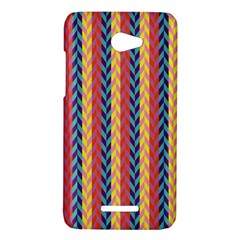 Colorful Chevron Retro Pattern HTC Butterfly X920E Hardshell Case