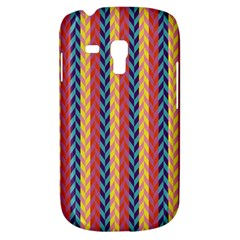 Colorful Chevron Retro Pattern Samsung Galaxy S3 Mini I8190 Hardshell Case