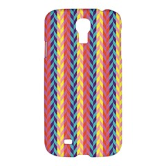 Colorful Chevron Retro Pattern Samsung Galaxy S4 I9500/I9505 Hardshell Case